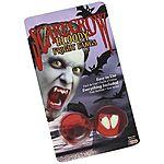 Scarecrow Halloween Bloody Fright Vampire Dracula Fangs $4.95 Ebay