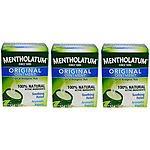 3 Pack Mentholatum Original Topical Analgesic Ointment Aromatic Vapor Rub 3oz $12.99 Ebay