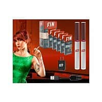 Daily Steals Deal: FIN Premium Rechargeable E-Cigarette Ultimate Kit with 28 Refill Cartridges, 2 Rechargeable Batteries and USB/AC Charger $10.00 f/s