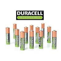 Shnoop Deal: Duracell NiMH AAA Precharged Rechargeable Batteries - 12 ct $15.99 f/s