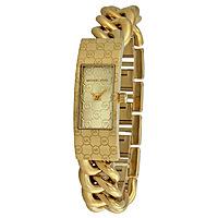 Shnoop Deal: Michael Kors Hayden Champagne Dial Gold-tone Twist Ladies Watch MK3306 $119.99 f/s