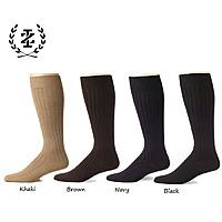 Shnoop Deal: 12-Pack: IZOD Men's Signature Modern Rib Over The Calf Dress Socks $23.99 f/s