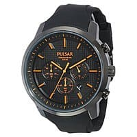 Shnoop Deal: Pulsar by Seiko Mens PT3207 Chronograph On the Go Collection Stainless Steel Watch $39.99 f/s