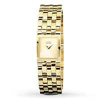 Blingdaily Deal: Citizen Women's EX1302-56P Eco-Drive Jolie Collection Gold-Tone Stainless Steel Watch $59.99 f/s