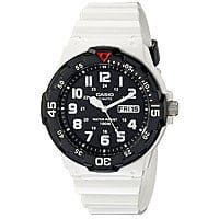 Blingdaily Deal: Casio Men's MRW200HC-7BV Dive Style 100M White Resin Day Date Watch $9.99 f/s