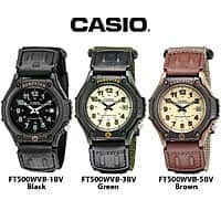 Deal: Casio Men's Forester Illuminator Analog Sports Watch - Choose Your Color $12.99 f/s
