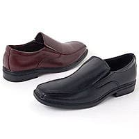 Alpine Swiss Mens Leather Dress Shoes Dressy Slip on Loafers Good For Suit Jeans $  24.99 Ebay