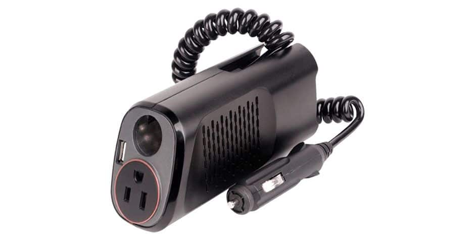 CyberPower 150W Power Inverter with 2.1A USB Charger $8.00 + s/h Meh