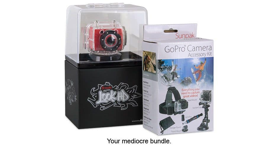 Nabi Look HD Camera and GoPro Accessory Kit $35.00 + s/h Meh