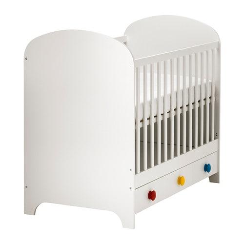 IKEA Gonatt Crib $119 in store.
