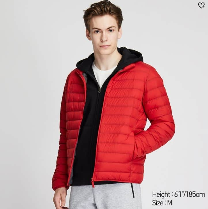 Uniqlo MEN ULTRA LIGHT DOWN JACKET (Red only)  - Free Shipping $39.9