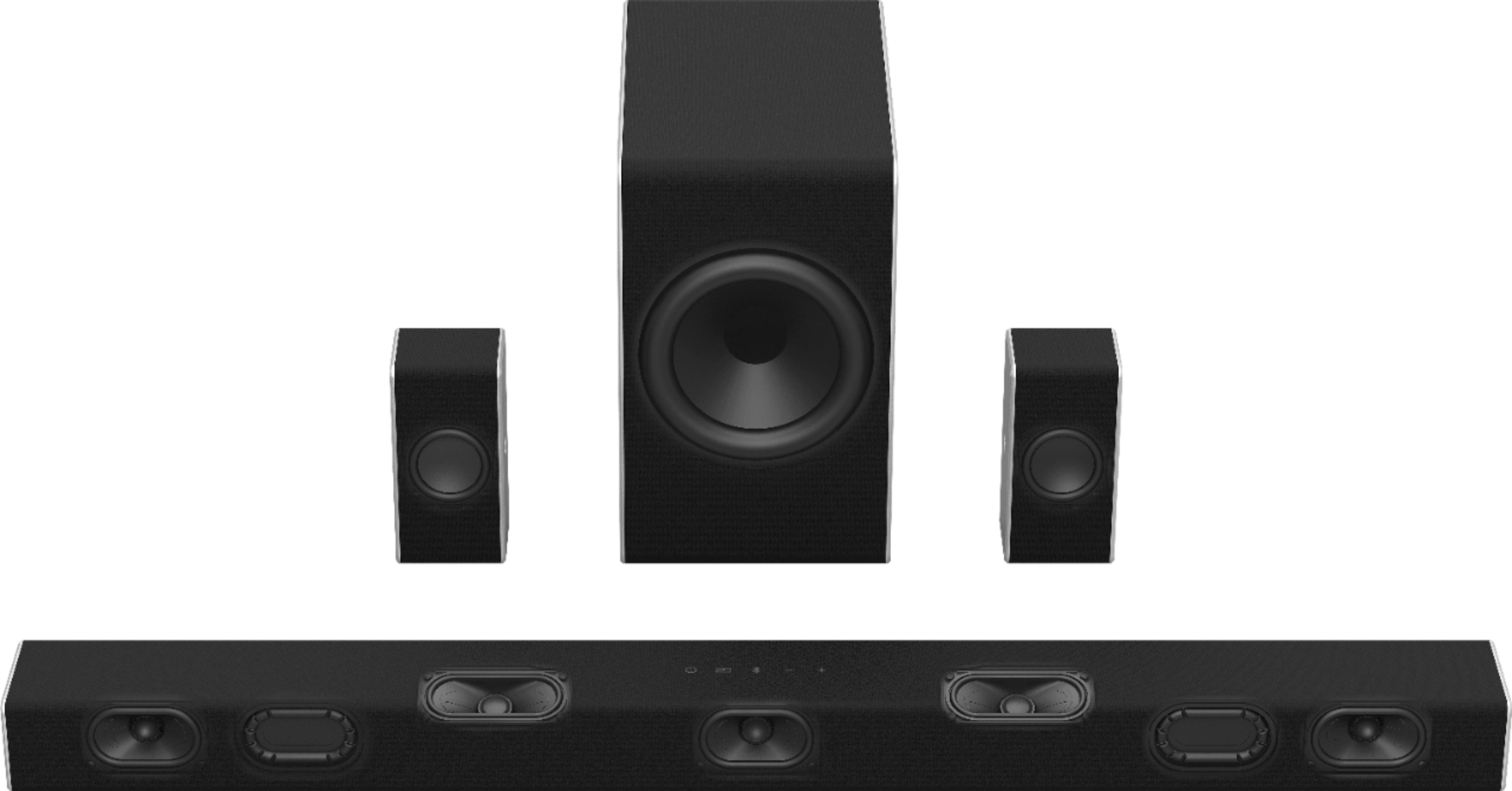 VIZIO - 5.1.2-Channel Soundbar System with Wireless Subwoofer and Dolby Atmos - $329.99