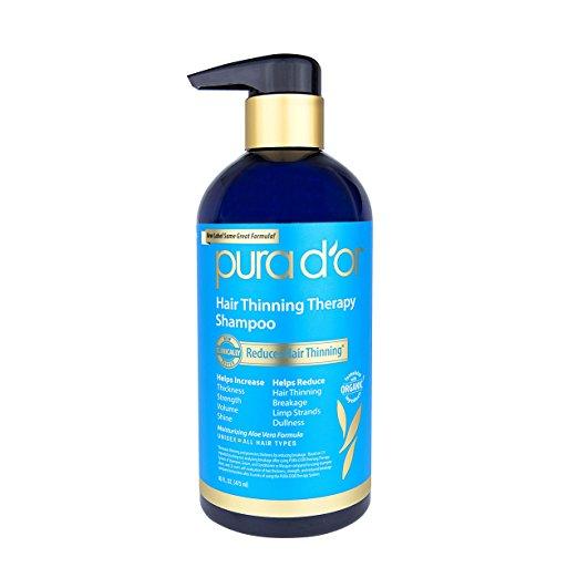 Pura d'or Hair Loss Prevention Shampoo - 16oz $12.49