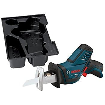 Bosch Bare-Tool PS60BN 12-Volt Max Lithium-Ion Pocket Reciprocating Saw with Exact-Fit L-BOXX Tool Insert Tray. Free 2.0Ah battery, free shipping, $75