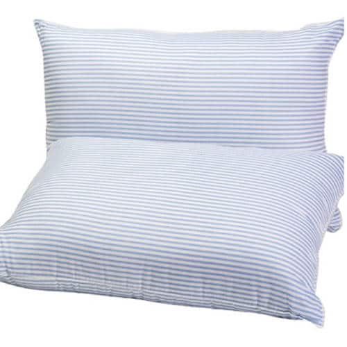 "Mainstays HUGE Pillow (20""x28"") in Blue and White Stripe, Set of 2-$8.06"