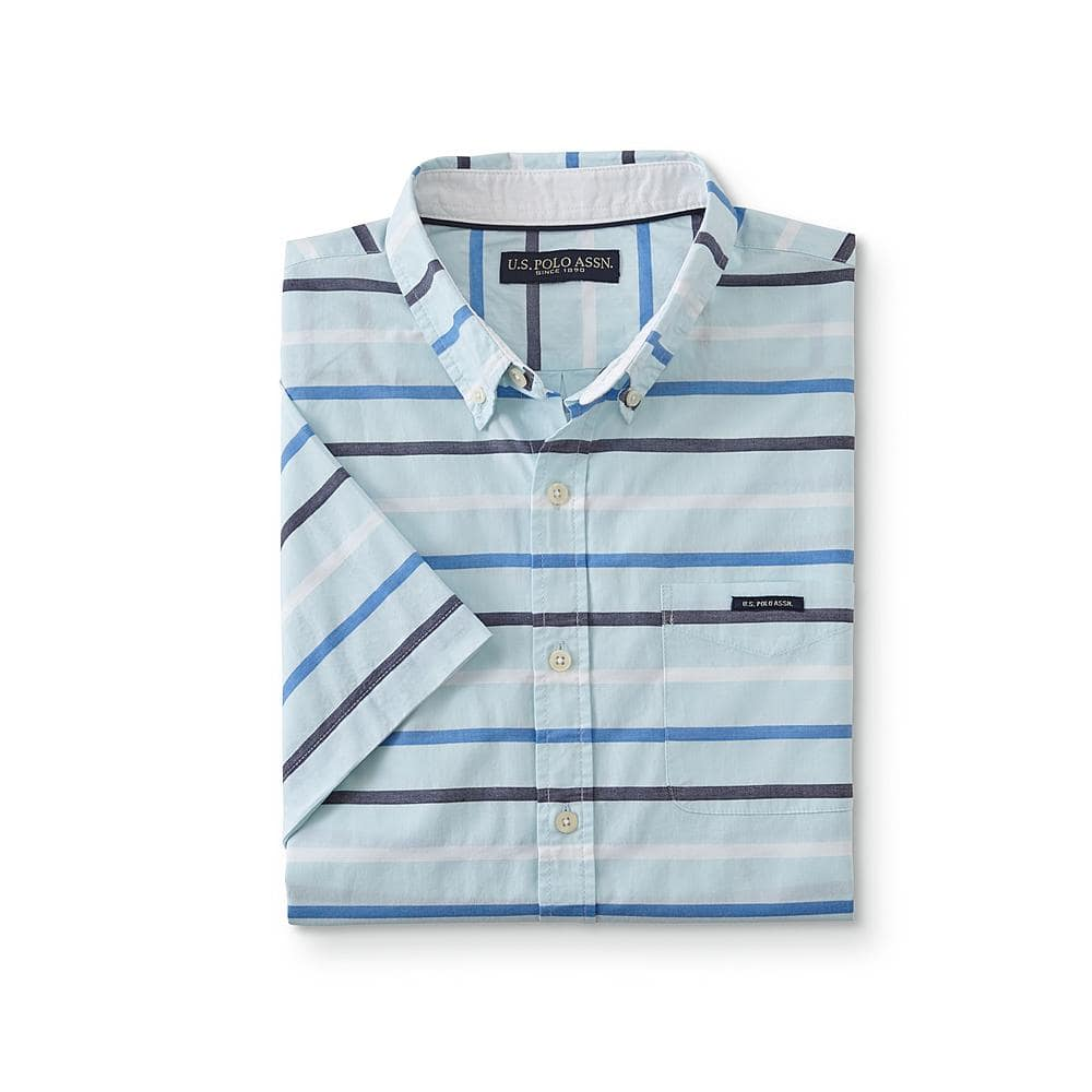bd3dd31cb (Sears) U.S. Polo Assn. Men s Short-Sleeve Button-Front Shirt (Most can be  Free Ship To Store Pickup at Sears Kmart)  6.99