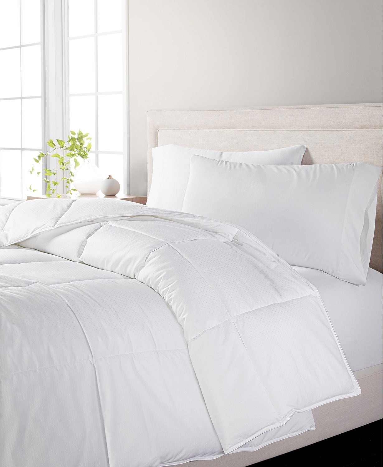 Martha Stewart Collection Dream Science Ultra Comfort Full/Queen/KING Down Alternative Comforter, White, Size: Full/Queen/King $39.93 *YMMV*