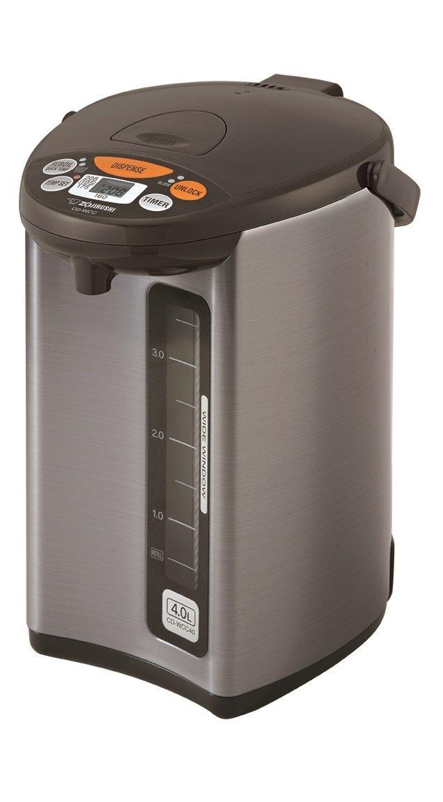 Zojirushi CD-WCC40 Micom Water Boiler & Warmer, Silver $109.99 via Amazon