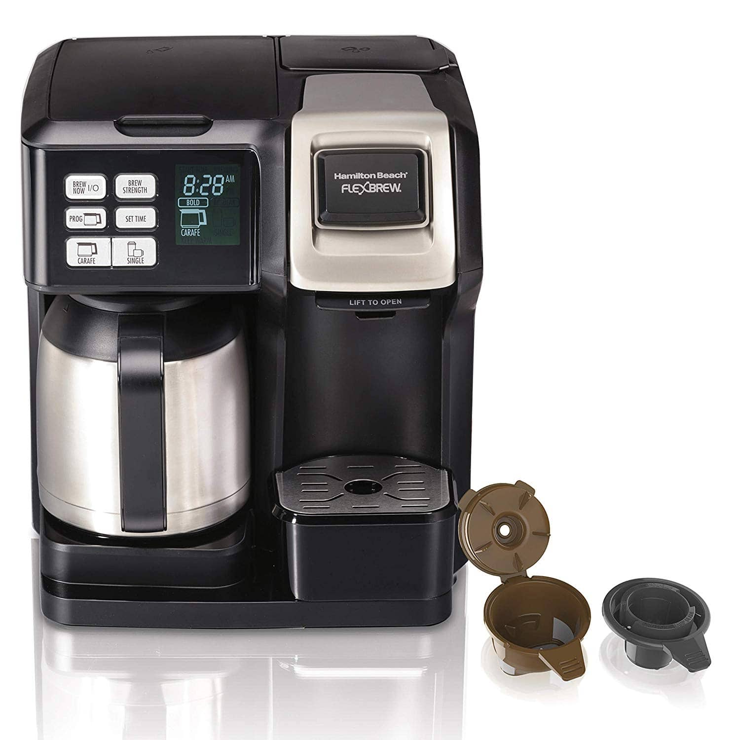 $69.99 (42% off) Hamilton Beach 10-Cup FlexBrew Thermal Coffee Maker-Wayfair and Amazon