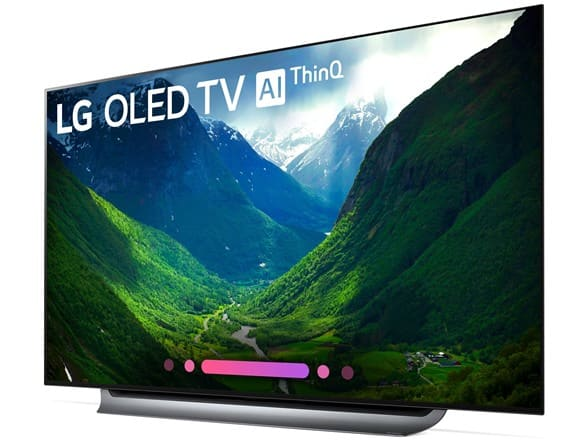 LG 65in C8AUA 4K HDR Smart OLED TV w/ AI ThinQ (Refurbished/Open Box) (free shipping for Prime members) $1199.99