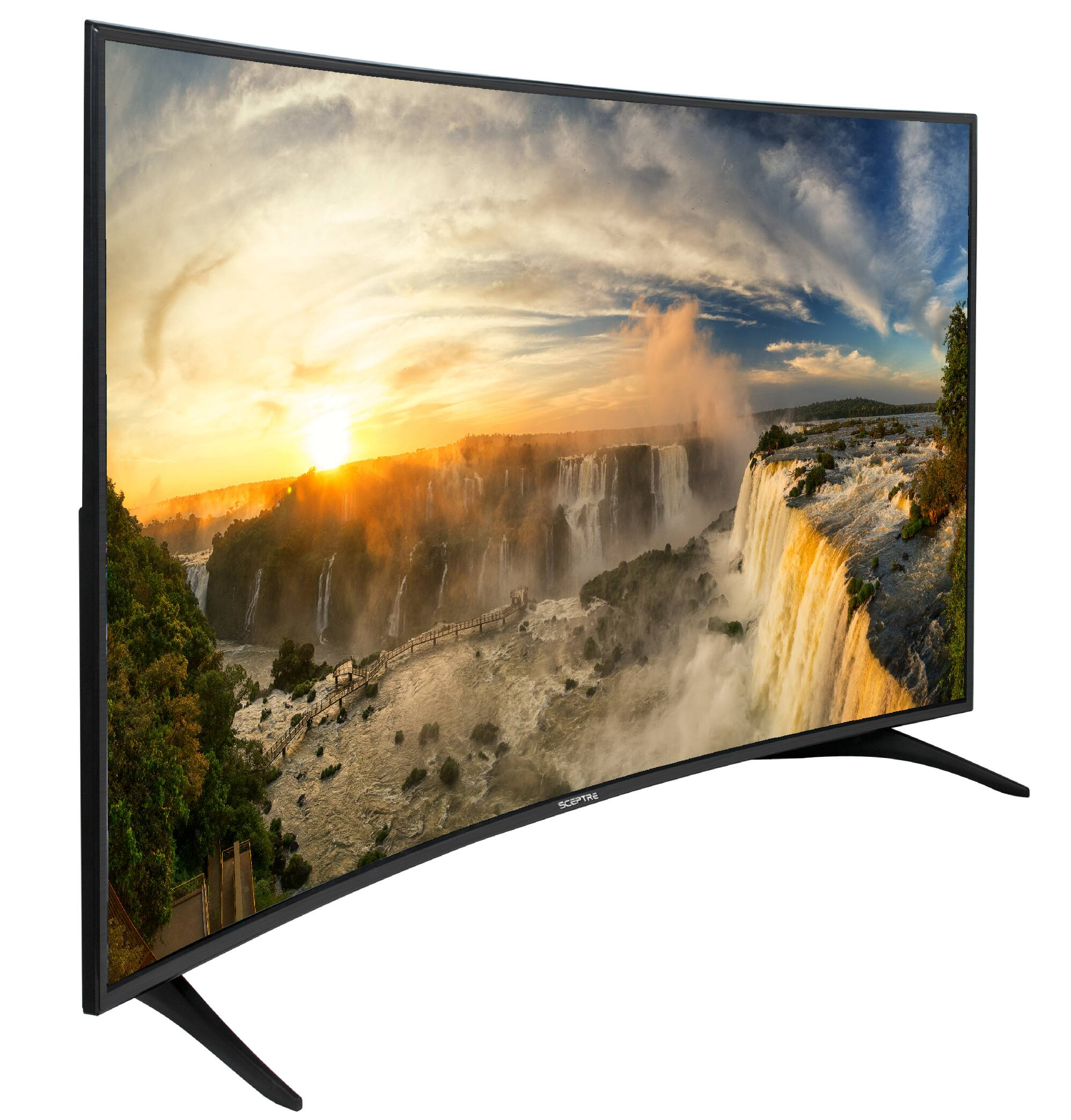 "Sceptre 65"" Class HD (2160P) 4K Curved LED TV (C650CV-U) $449.99"