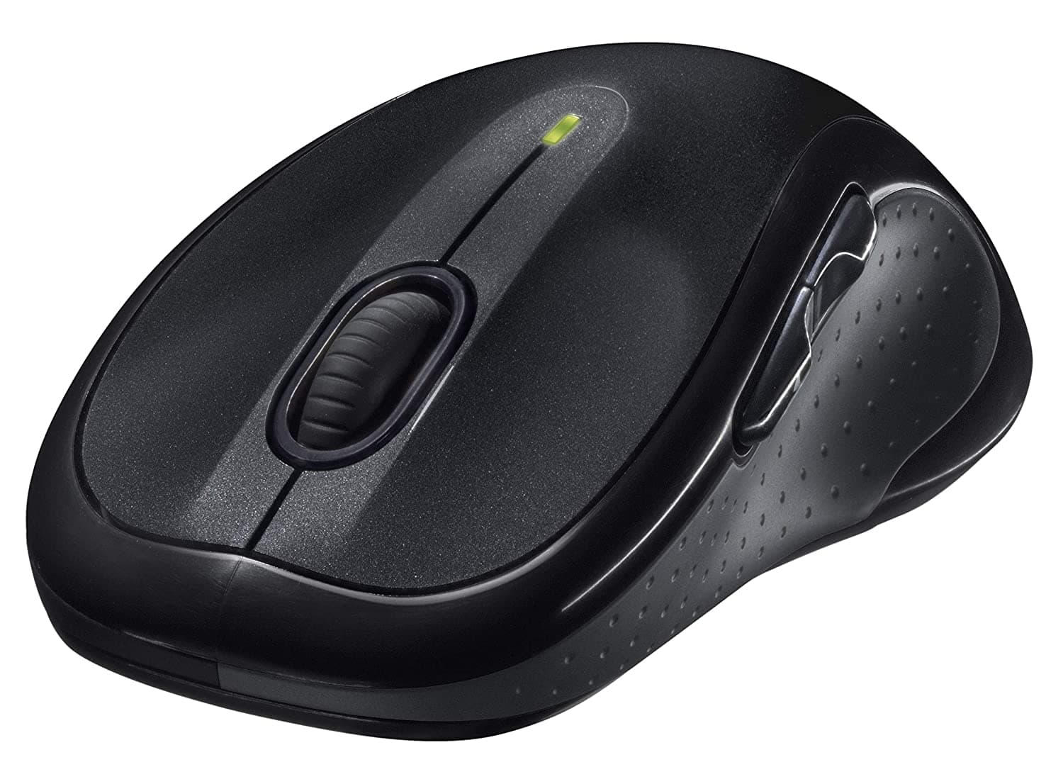 Logitech M510 Wireless Computer Mouse – Comfortable Shape with USB Unifying Receiver, with Back/Forward Buttons and Side-to-Side Scrolling, Dark Gray $21.97