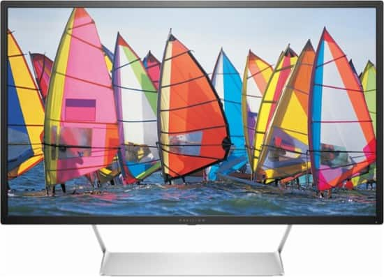 "HP - Pavilion Model: 32Q 32"" LED QHD Monitor for $229.99 + tax + FS for  Elite/Elite Plus members"