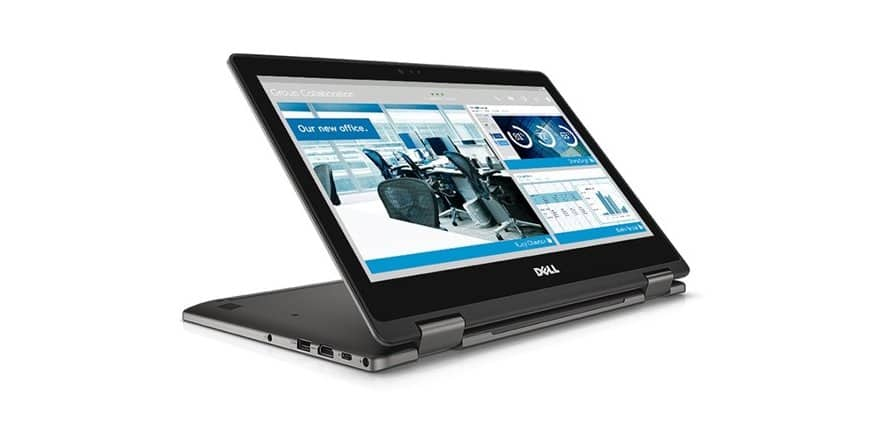 "Dell Latitude 3379 13.3"" Full-HD 2-in-1 Convertible Laptop, i3-6006u, 4GB DDR4, 128 SSD, Type-C, Backlit KB, Fact Refurb -  $349.99"