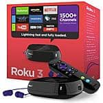 Roku 3 4230R (2015 version) $85 AC (Promo Code needed) + FS @ Fry's