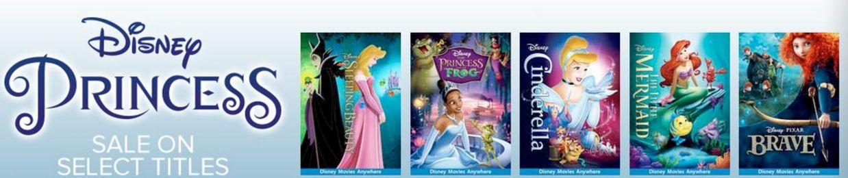 Animated Disney Princess Movies Digital (DMA) Sale from $15 @ GooglePlay, iTunes, Microsoft and Vudu