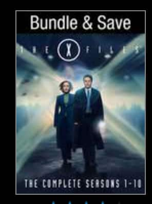 Updated: Complete TV Series Digital HD Download Starting at $28 (X-Files for $50, etc.) on VUDU