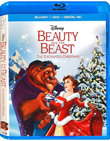Disney Movie Rewards: Beauty and the Beast: The Enchanted Christmas (Blu-ray + DVD + Digital HD) - 2000 DMR Pts.