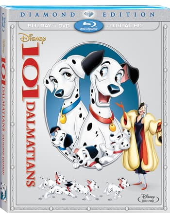 Disney Movie Rewards: 101 Dalmatians (Blu-ray, DVD + Digital Copy) - 1000 PTS