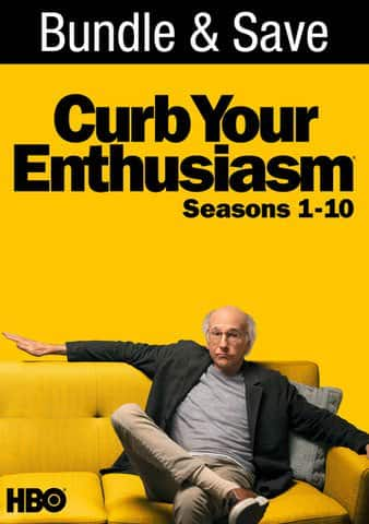 Curb Your Enthusiasm: Seasons 1-10 (Bundle) (Digital HD) $50 at iTunes or VUDU