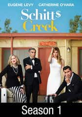 Schitt's Creek: Season 1 and 2 $5 each at Amazon and VUDU