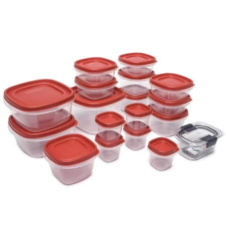 YMMV- Rubbermaid Easy Find Lids Food Storage Container 36-Piece Set with Bonus 1.3 Cup Brilliance Container--$3.80 @ Walmart B&M