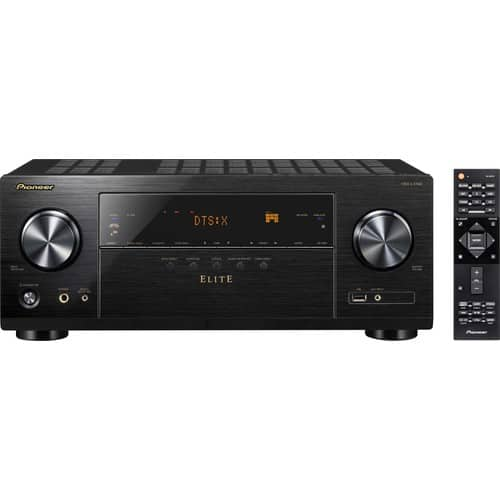 Pioneer - Elite 7.2-Ch. Hi-Res 4K Ultra HD HDR Compatible A/V Home Theater Receiver - Model VSX-LX102 - Black - $300 at Bestbuy