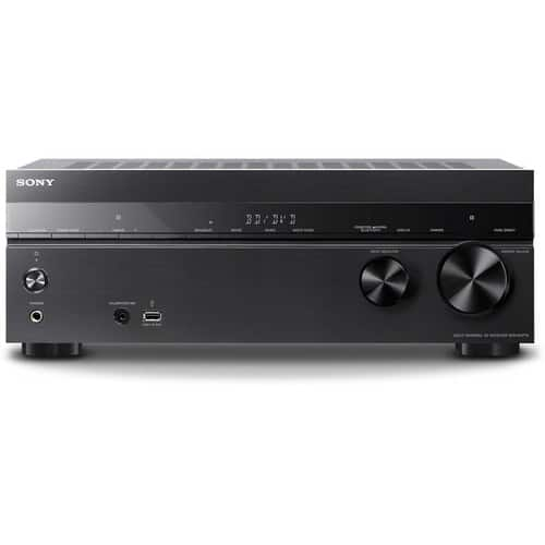 Sony STRDH770 - 1015W - 7.2-Ch. 4K Ultra HD and 3D Pass-Through A/V Home Theater Receiver - Black for $198 at amazon