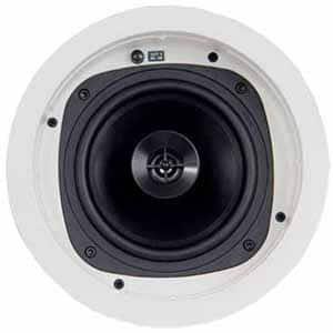 "Klipsch KHC-6 6.5"" In-Ceiling Speaker (Pair) - White for $50 + tax (Local delivery and shipping may be not available) at Frys"