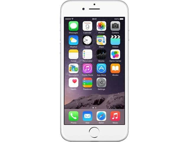 """Refurbished: Apple iPhone 6 16GB 4G LTE Silver Unlocked GSM 8 MP Camera Smartphone, B+ Grade Condition 4.7"""" 1GB RAM - OEM for $140 + $30 rebate card from NewEgg Flash"""