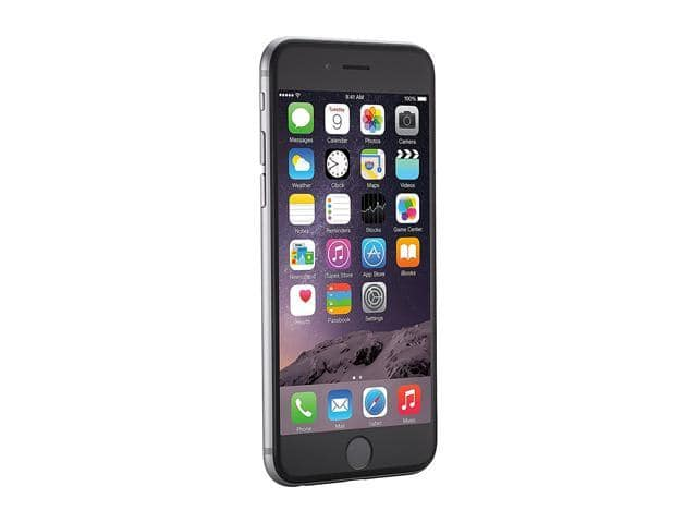 "Refurbished: Apple iPhone 6 4G LTE Unlocked Cell Phone 4.7"" Silver 64GB 1GB RAM for $150"