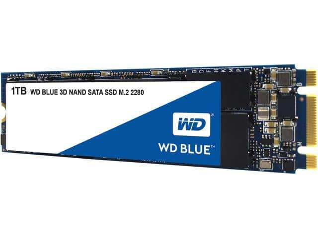 WD Blue 3D NAND 1TB PC SSD - SATA III 6 Gb/s M.2 2280 Solid State Drive - WDS100T2B0B for $135 at NewEggFlash