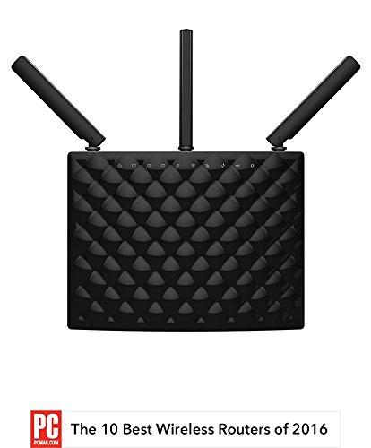 Amazon has Tenda AC15 AC1900 Wireless Wi-Fi Gigabit Smart Router, Black  for $40 with coupon