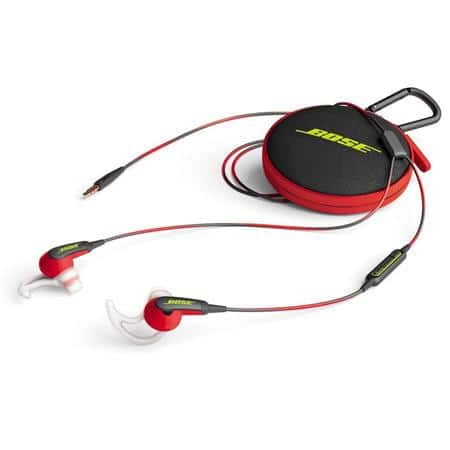 Walmart has Bose SoundSport In-Ear Headphones, Power Red 741776-0040 for $49