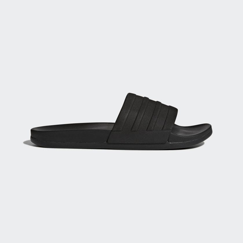 Adidas ADILETTE COMFORT SLIDES CORE BLACK / CORE BLACK $15.62