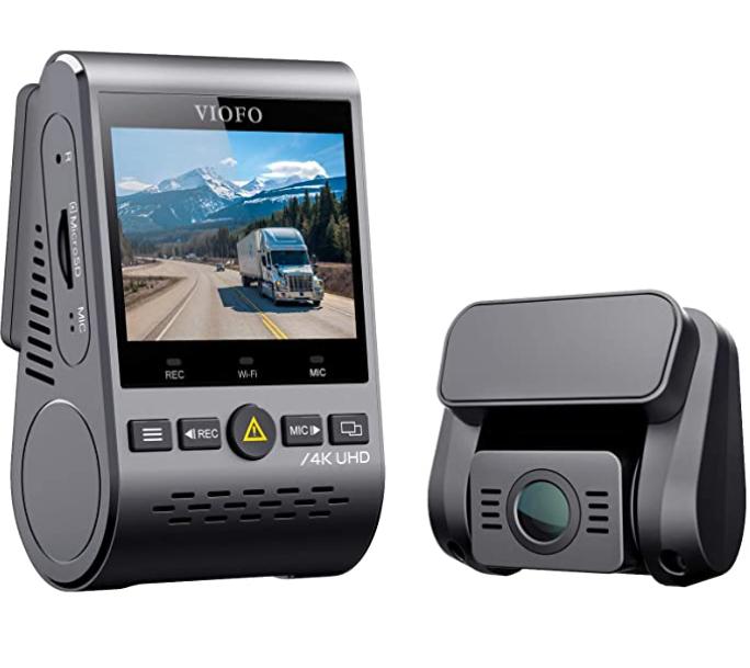 VIOFO A129 Pro Duo 4K Dual Dash Cam $200 at Viofo Ltd via Amazon