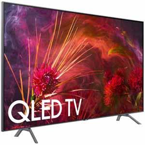 Samsung qn75q8fn 75 class, 74.5 diagonal 4k qled mr240 smart tv q contrast hdr elite $2299