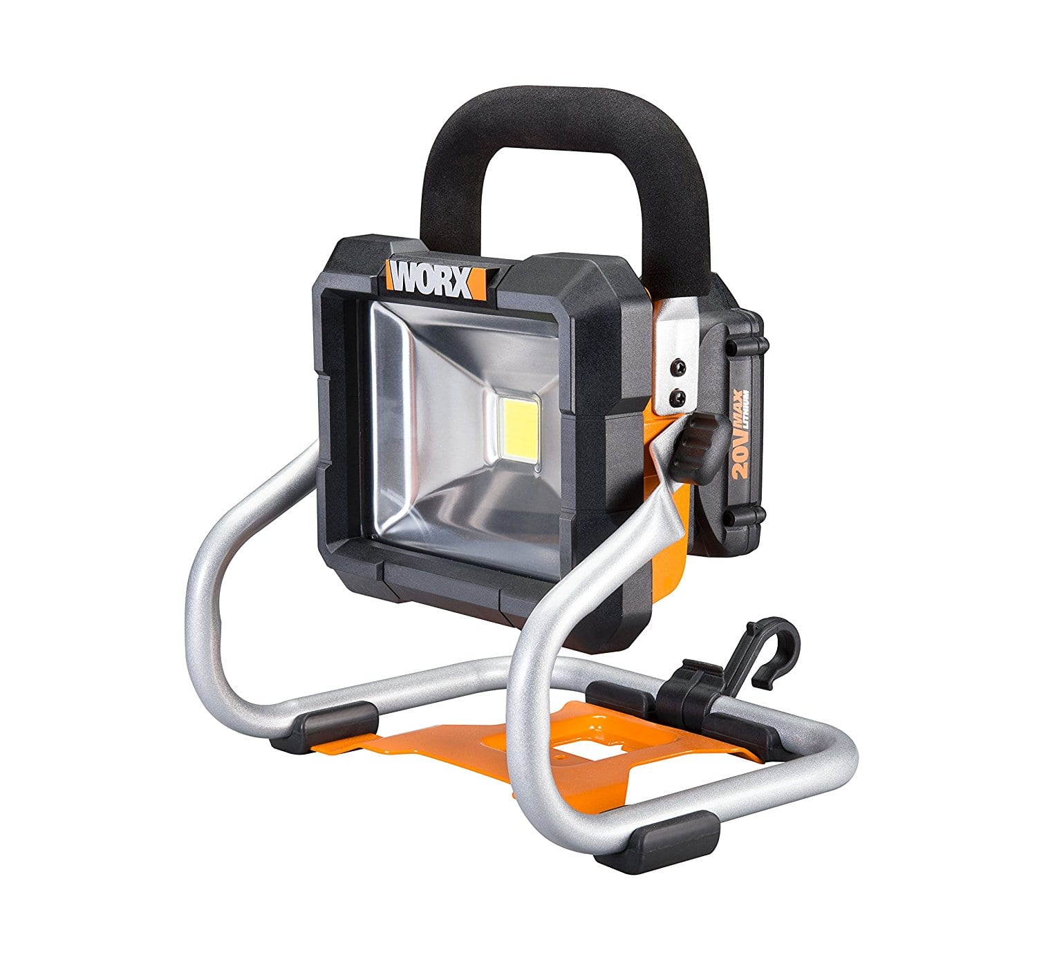 Worx Cordless 20V Max Lithium LED Work Light $32 - tool only no battery