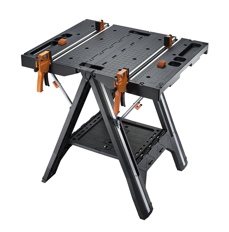 Worx Pegasus Multi-Function Folding Work Table/Sawhorse $80
