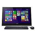"""Acer Aspire AZ1-621-UH24 21.5"""" All-in-One Touchscreen Computer 4 GB 500GB HDD"""